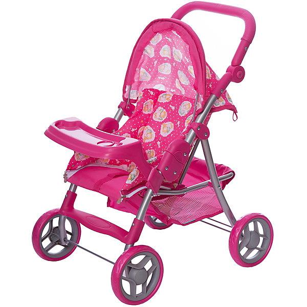 Коляска-трансформер для кукол   Buggy Boom cерия Скайна (Skyna), розовая с мишкамиТранспорт и коляски для кукол<br>Характеристики:<br><br>• возраст: от 3 лет;<br>• материал: металл, пластик, текстиль;<br>• цвет: розовый;<br>• принт: мишки;<br>• размер: 53х14х33 см;<br>• вес: 2,68 кг;<br>• страна бренда: Россия;<br>• бренд: Багги Бум.<br><br>Коляска-трансформер для кукол Buggy Boom – стильная,  функциональная, с возможностью многочисленных регулировок и оригинальной конструкцией, непременно понравится вашей девочке. <br><br>Благодаря множеству функций, таких как: люлька переноска, сетчатая корзина, система безопасности для ребенка от случайного складывания, ремень безопасности, столик для кормления куклы, регулируемая ручка, складной капюшон - игра с коляской становится разнообразной и увлекательной. <br><br>Коляска выполнена из качественных и безопасных для ребенка материалов, каркас произведен из облегченного металла и делает конструкцию прочной и устойчивой к повреждениям, колеса изготовлены из высококачественного полимера и пластмассы, а в качестве ткани использован полиэстер, который легко мыть. <br><br>Коляска легко собирается и не занимает много места, её можно использовать в зимнее и летнее время. Поставляется в фирменной красочной коробке с ручкой.<br><br>Коляску-трансформер для кукол Buggy Boom  можно купить в нашем интернет-магазине.<br>Ширина мм: 53; Глубина мм: 14; Высота мм: 33; Вес г: 2680; Цвет: розовый; Возраст от месяцев: 36; Возраст до месяцев: 60; Пол: Женский; Возраст: Детский; SKU: 7994710;