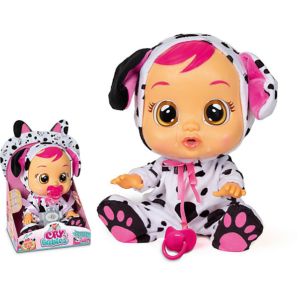 IMC Toys Плачущий младенец IMC Toys Cry Babies Дотти imc toys imc toys кукла интерактивная crybabies плачущий младенец ляля