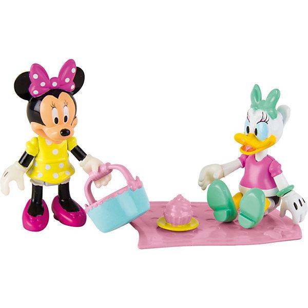 IMC Toys Disney Игровой набор Минни: Пикник (Дэйзи и Минни, 8 см, аксесс.) imc toys disney мягкая игрушка микки и весёлые гонки поцелуй от микки 34 см интеракт звук