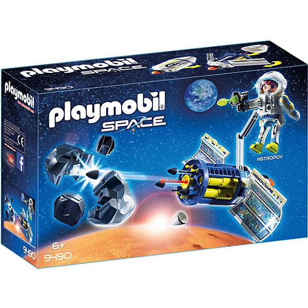 PLAYMOBIL® Конструктор Playmobil «Космос:Спутниковый Метеороидный Лазер» playmobil® конструктор playmobil полиция блокпост полиции