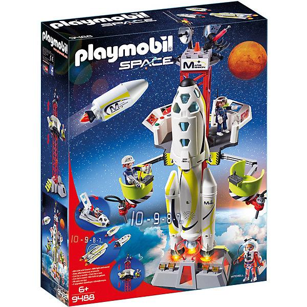 PLAYMOBIL® Конструктор Playmobil «Космос:Ракета-носитель с космодромом»