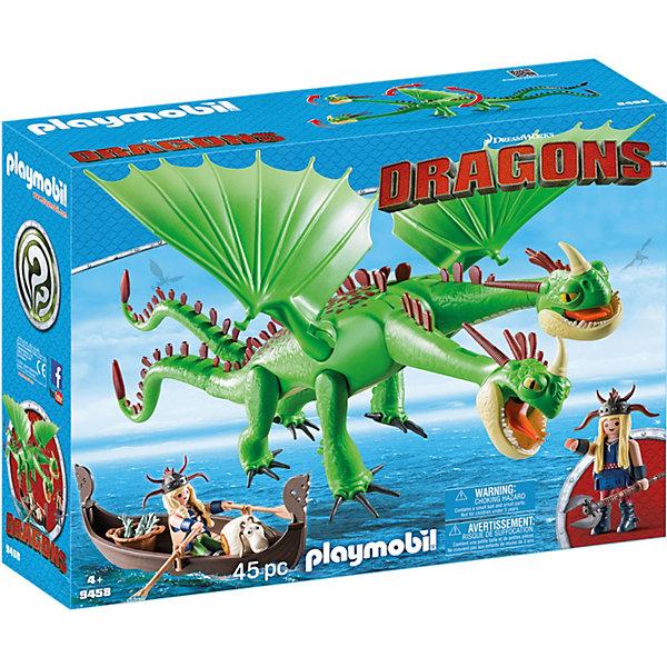 PLAYMOBIL® Конструктор Playmobil Забияка и Задирака, 18 деталей конструктор забияка в поисках принцессы 1157892