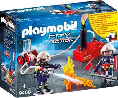 PLAYMOBIL City Action Игровой набор Playmobil «Пожарная служба: пожарные с водяным насосом»