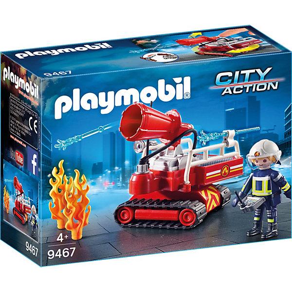 Купить Игровой набор Playmobil «Пожарная служба: огненная водяная пушка», PLAYMOBIL®, Унисекс