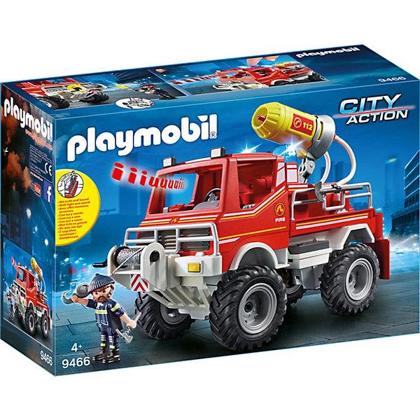 Купить Игровой набор Playmobil «Пожарная служба: пожарная машина», PLAYMOBIL®, Унисекс