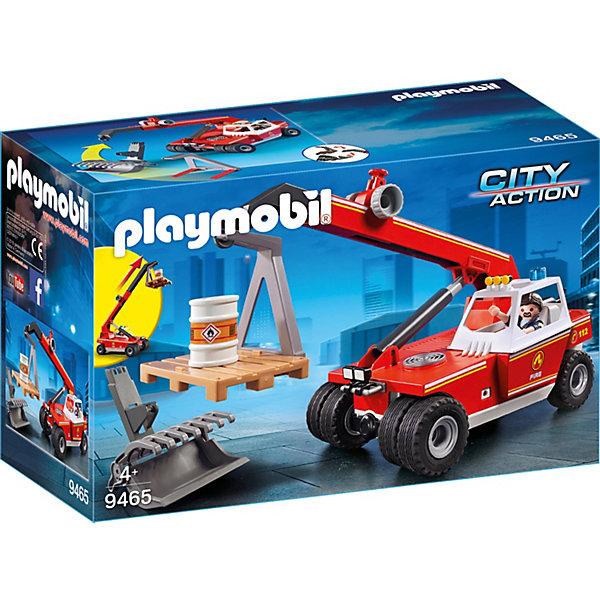 Купить Игровой набор Playmobil «Пожарная служба: пожарный кран», PLAYMOBIL®, Мужской