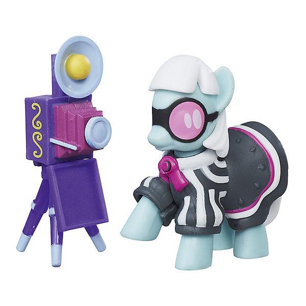 Hasbro Коллекционная пони My little Pony Фото Финиш, с аксессуарами цена