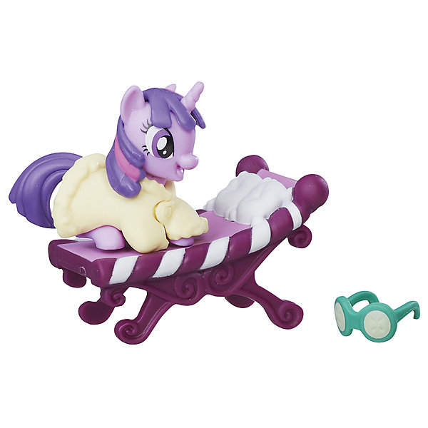 Hasbro Коллекционная пони My little Pony Искорка, с аксессуарами hasbro коллекционная фигурка my little pony трикси луламун и старлайт глиммер
