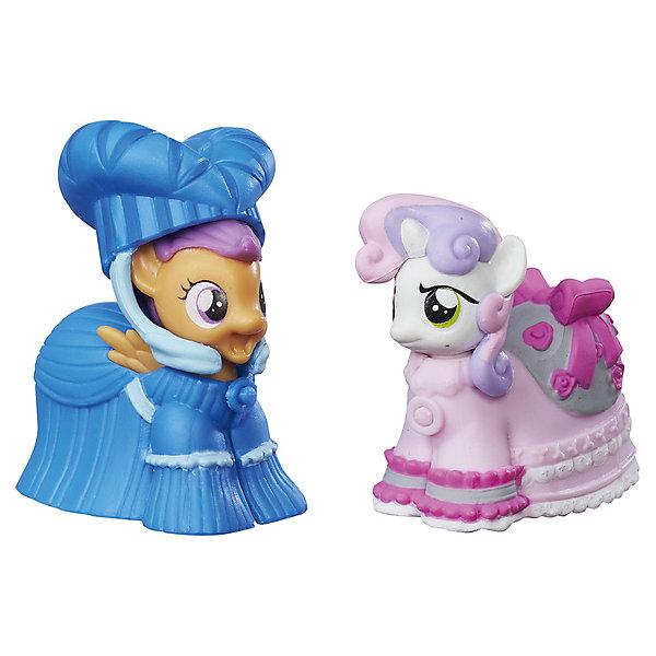 Hasbro Коллекционная пони My little Pony Скуталу и Крошка Бель, с аксессуарами коллекционная фигурка король шторм и граббер my little pony