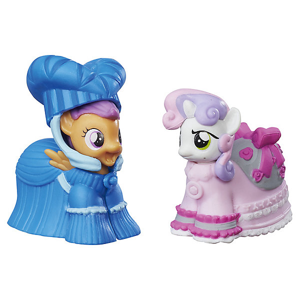 Hasbro Коллекционная пони My little Pony Скуталу и Крошка Бель, с аксессуарами hasbro коллекционная фигурка my little pony трикси луламун и старлайт глиммер