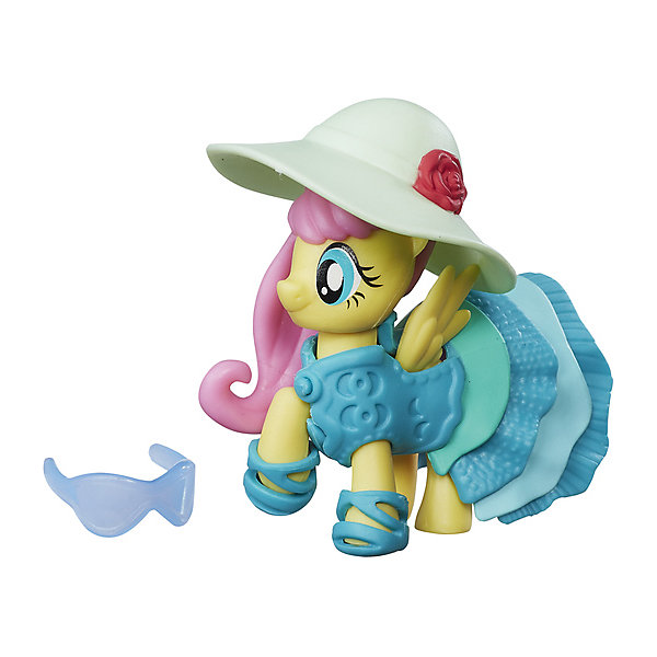 Hasbro Коллекционная пони My little Pony Флаттершай с аксессуарами мульти пульти my little pony пони милашка 17 см озвученная v62310 17