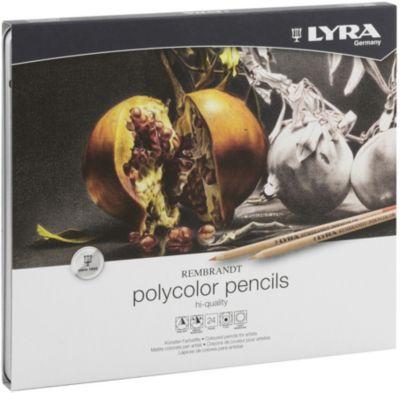 Профессиональные художественные карандаши POLYCOLOR, 24 цветов, артикул:8004619 - Рисование и раскрашивание