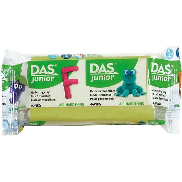 DAS Мягкая масса для моделирования светло-зеленая, 100 грамм