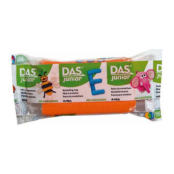 DAS Мягкая масса для моделирования оранжевая, 100 грамм