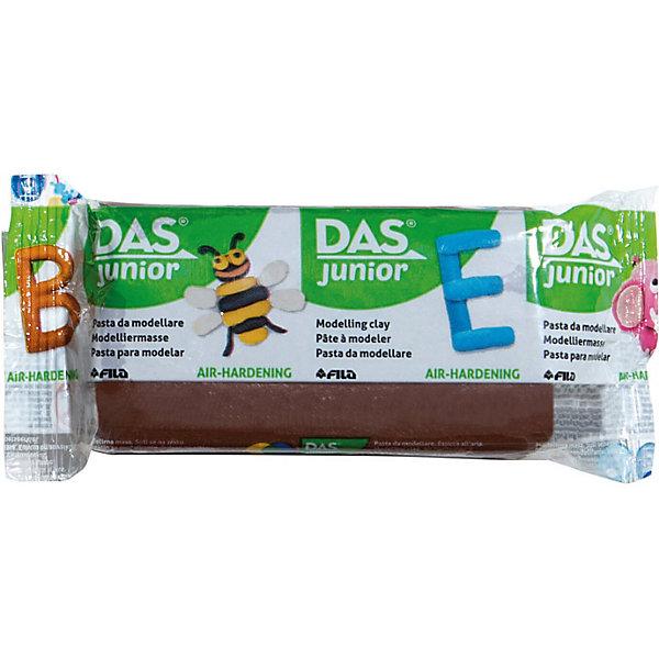 DAS Мягкая масса для моделирования коричневая, 100 грамм