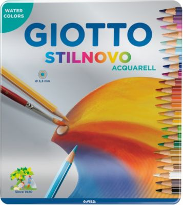Цветные акварельные карандаши GIOTTO, 24 штук, артикул:8004671 - Рисование и раскрашивание