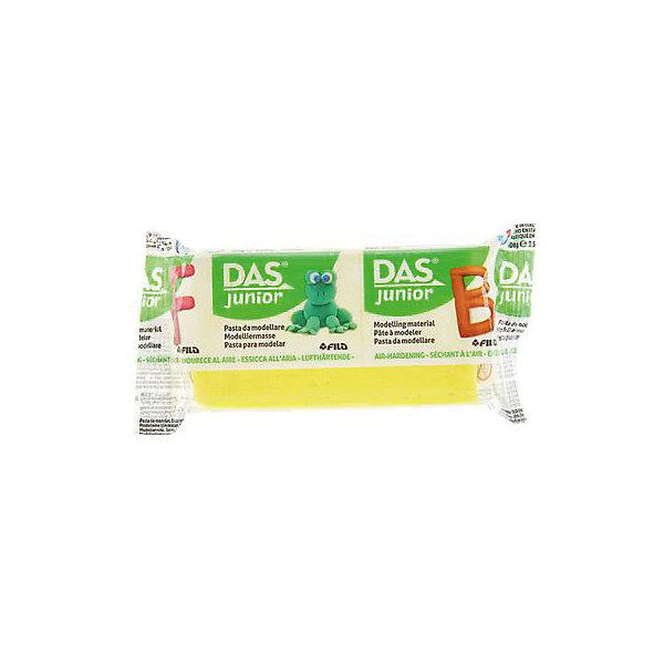 DAS Мягкая масса для моделирования желтая, 100 грамм