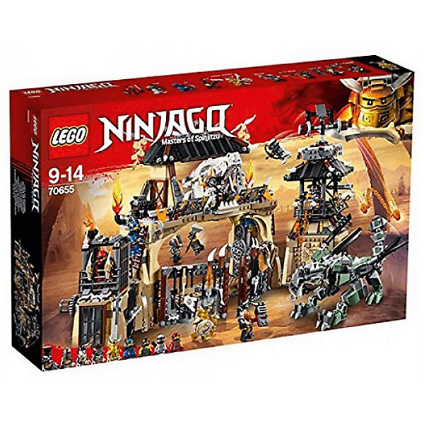 цены на LEGO Конструктор LEGO Ninjago 70655: Пещера драконов  в интернет-магазинах