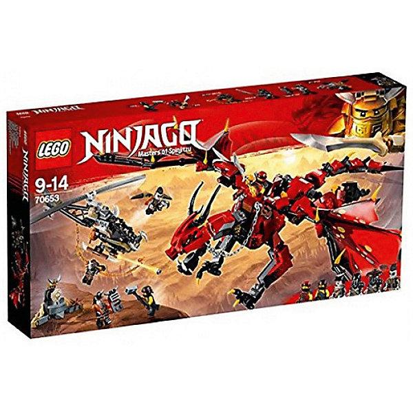 LEGO Конструктор LEGO Ninjago 70653: Первый страж конструктор lego ninjago механический дракон зеленого ниндзя 70612