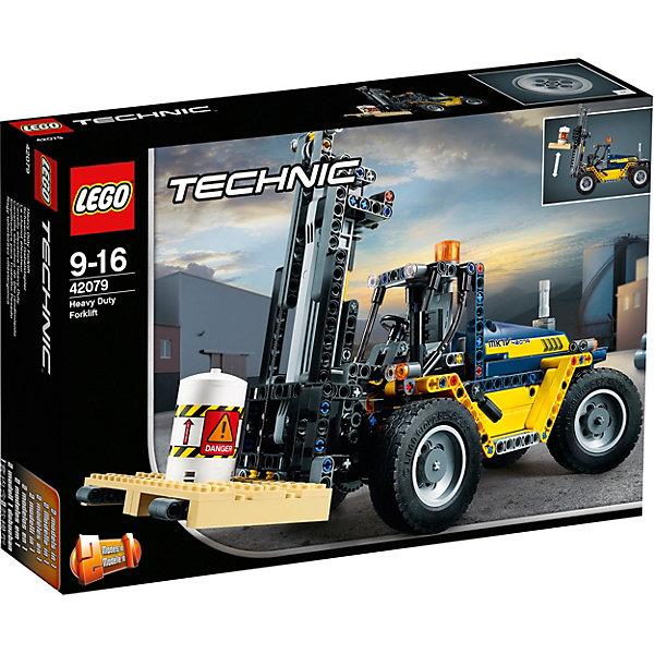 LEGO Конструктор Technic 42079: Сверхмощный вилочный погрузчик