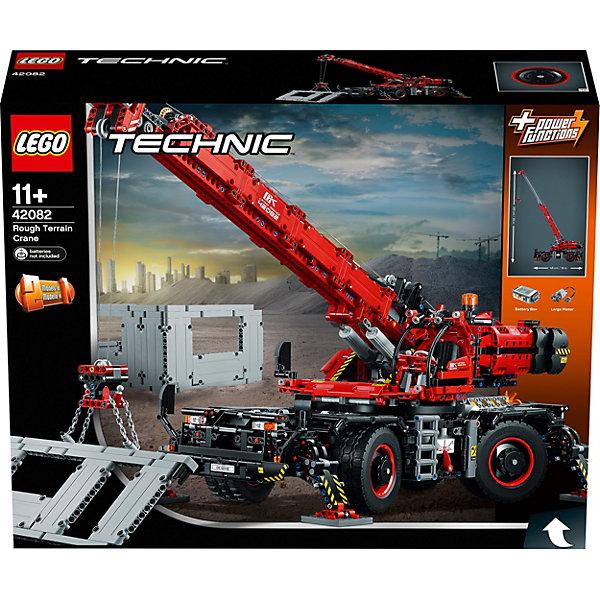 LEGO Конструктор Technic 42082: Подъёмный кран для пересечённой местности