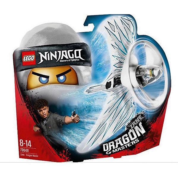 LEGO Фигурка с пусковым устройством LEGO Ninjago 70648: Зейн - Мастер дракона lego lego конструктор lego ninjago 70648 зейн мастер дракона