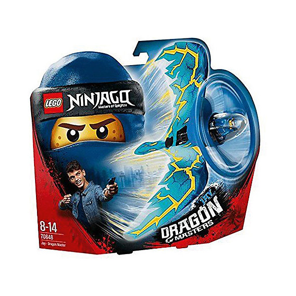 LEGO Фигурка с пусковым устройством LEGO Ninjago 70646: Джей - Мастер дракона lego ninjago джей мастер дракона 70646