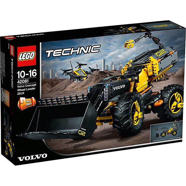 LEGO Конструктор Technic 42081: VOLVO колёсный погрузчик ZEUX