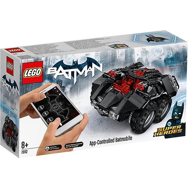 LEGO Конструктор LEGO Super Heroes 76112: Бэтмен: Управляемый Бэтмобиль lego super heroes 76119 конструктор лего супер герои бэтмобиль погоня за джокером