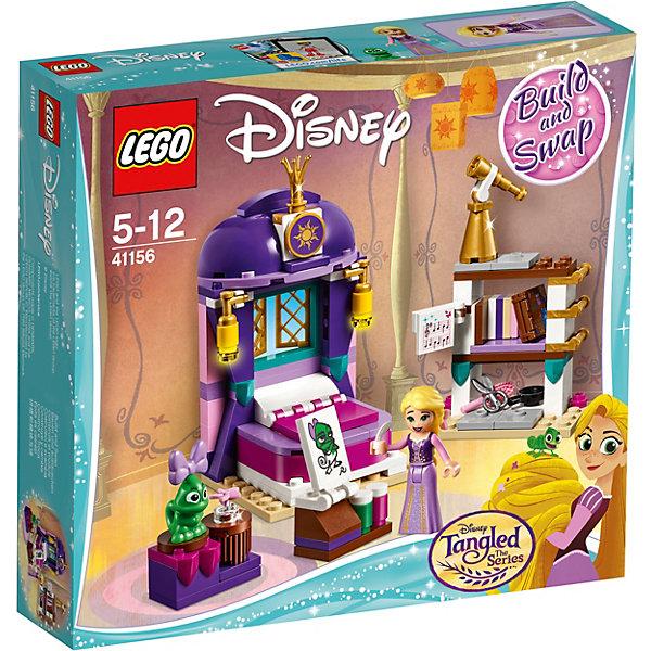 Фото - LEGO Конструктор LEGO Disney Princess 41156: Спальня Рапунцель в замке lego конструктор lego disney princess 41157 экипаж рапунцель