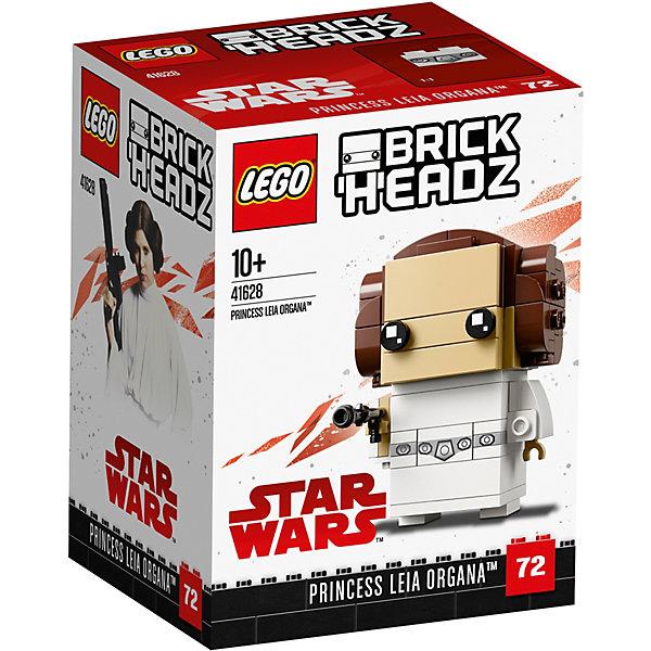 LEGO Сборная фигурка LEGO BrickHeadz 41628: Принцесса Лея игровые фигурки papo игровая фигурка принцесса с кошкой