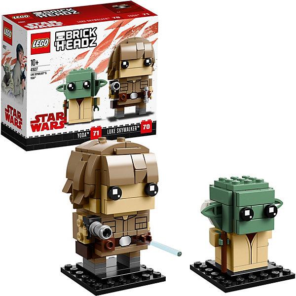 LEGO Сборная фигурка LEGO BrickHeadz 41627: Люк и Йода все цены