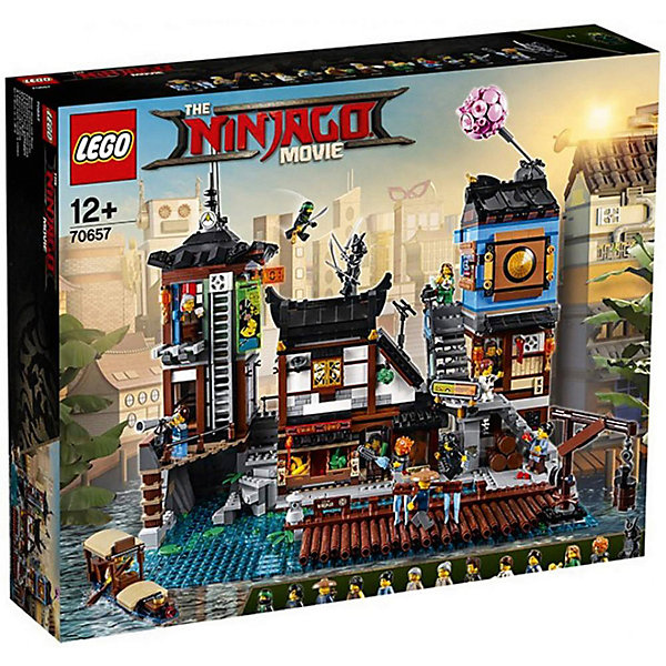 LEGO Конструктор Ninjago Movie 70657: Порт Ниндзяго Сити