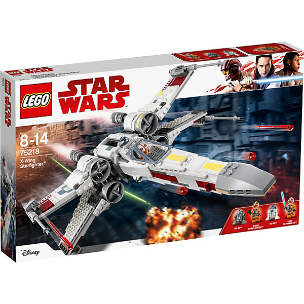 LEGO Конструктор Star Wars 75218: Звёздный истребитель типа Х