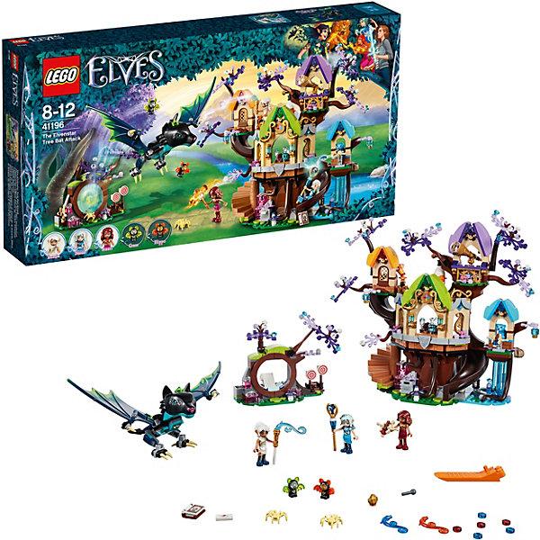 LEGO Конструктор LEGO Elves 41196: Нападение летучих мышей на Дерево эльфийских звёзд