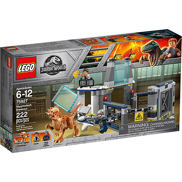 LEGO Конструктор LEGO Jurassic World 75927: Побег Стигимолоха из лаборатории