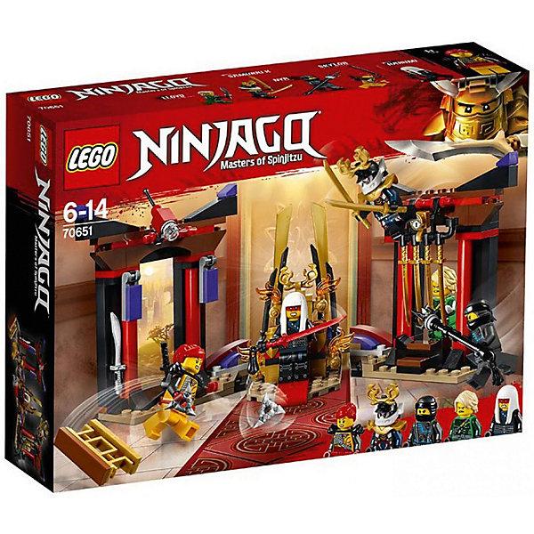 LEGO Конструктор LEGO Ninjago 70651: Решающий бой в тронном зале конструктор lego elves решающий бой между эмили и ноктурой 41195