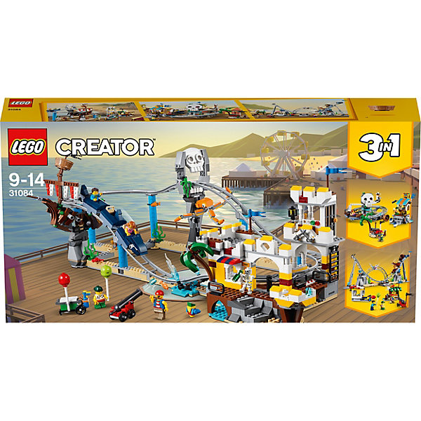 LEGO Конструктор Creator 31084: Аттракцион «Пиратские горки»