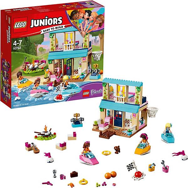 LEGO Конструктор LEGO Juniors 10763: Домик Стефани у Озера ливерпуль хаддерсфилд таун