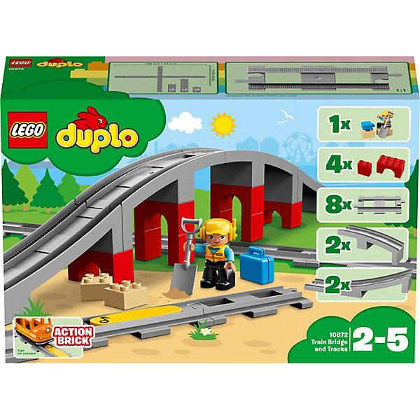 LEGO Конструктор DUPLO Town 10872: Железнодорожный мост