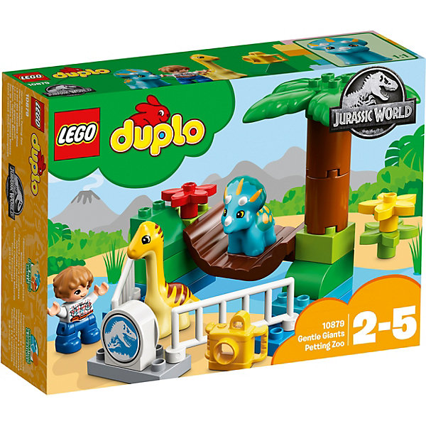Фото - LEGO Конструктор LEGO DUPLO 10879: Парк Динозавров конструктор lego подружки выставка щенков скейт парк
