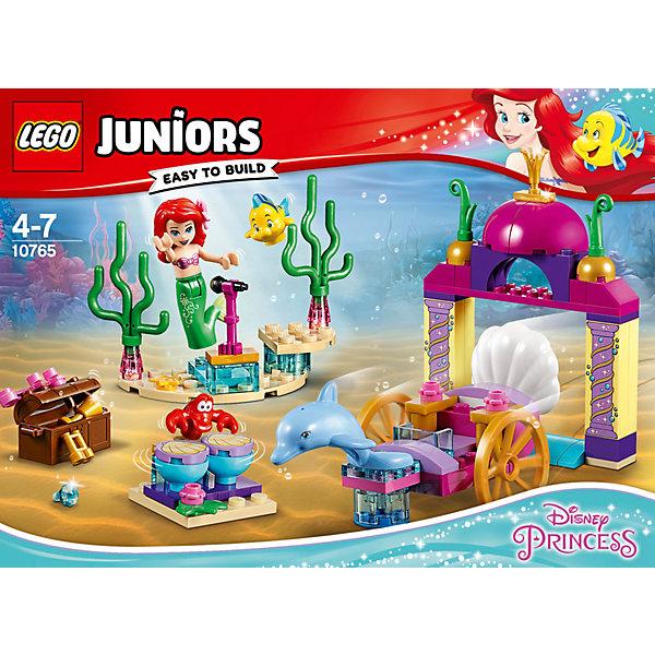LEGO Конструктор LEGO Juniors Disney Princess 10764: Подводный концерт Ариэль lego juniors оборона бэтпещеры™