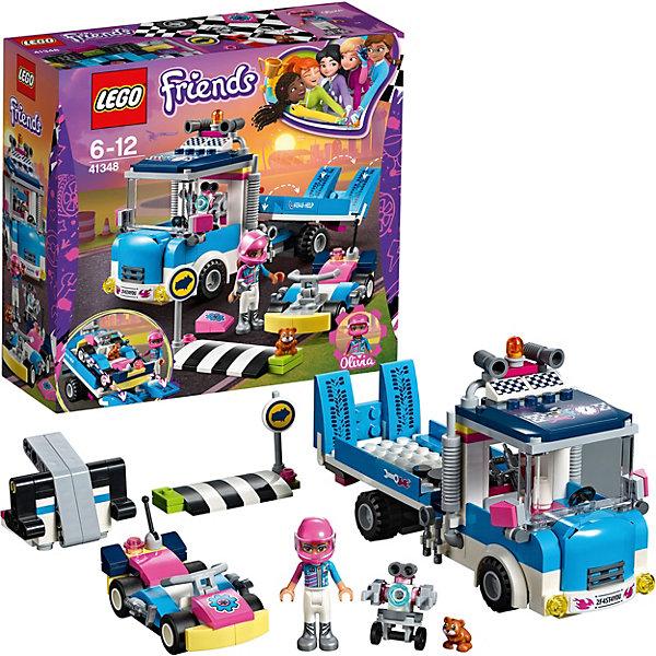 LEGO Конструктор LEGO Friends 41348: Грузовик техобслуживания lego конструктор lego friends 41348 грузовик техобслуживания