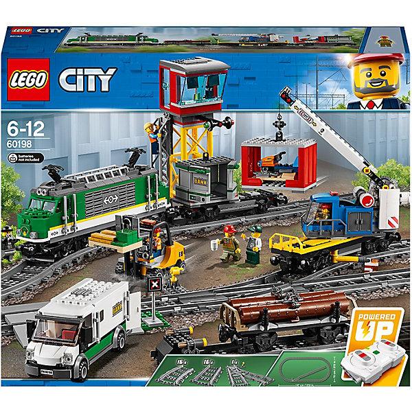 цена на LEGO Конструктор LEGO City 60198: Товарный поезд