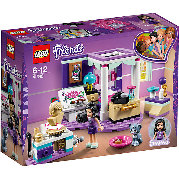 LEGO Конструктор LEGO Friends 41342: Комната Мии lego lego брелок для ключей friends эмма