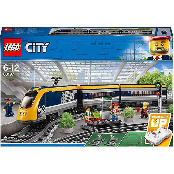 LEGO Конструктор LEGO City 60197: Пассажирский поезд конструктор city lego lego mp002xb00c9t