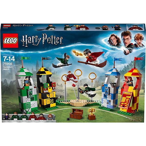 LEGO Конструктор Harry Potter 75956: Матч по квиддичу