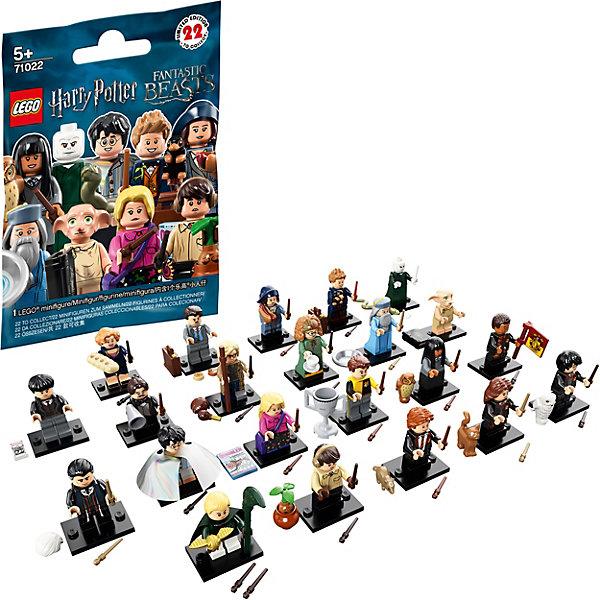 Купить Минифигурки LEGO Minifigures 71022: Гарри Поттер, Китай, синий, Унисекс