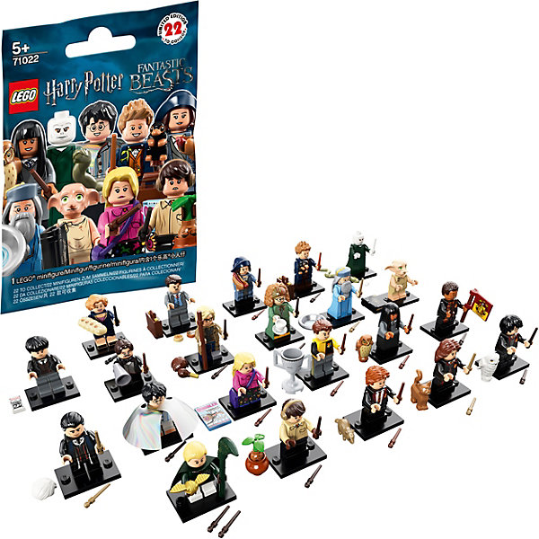 LEGO Минифигурки LEGO Minifigures 71022: Гарри Поттер tomy minifigures t89011 томи минифигурки сборная фигурка холодное сердце