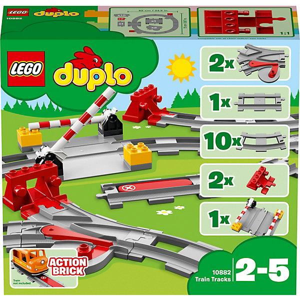 LEGO Конструктор DUPLO Town 10882: Рельсы